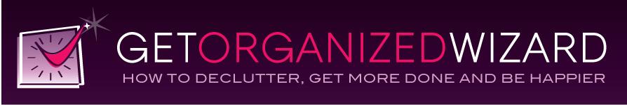 Get Organized Wizard Logo Option 1