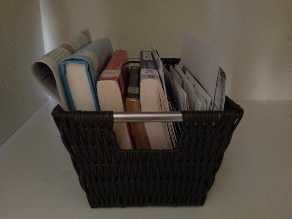 Outgoing Stuff Basket