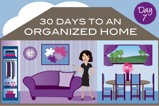 30 Days To An Organized Home